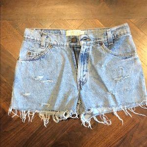 Levi Vintage Jean Shorts Size 24